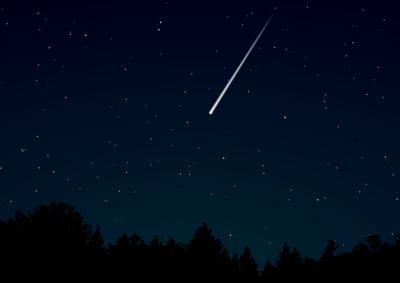 Escursione e stelle cadenti